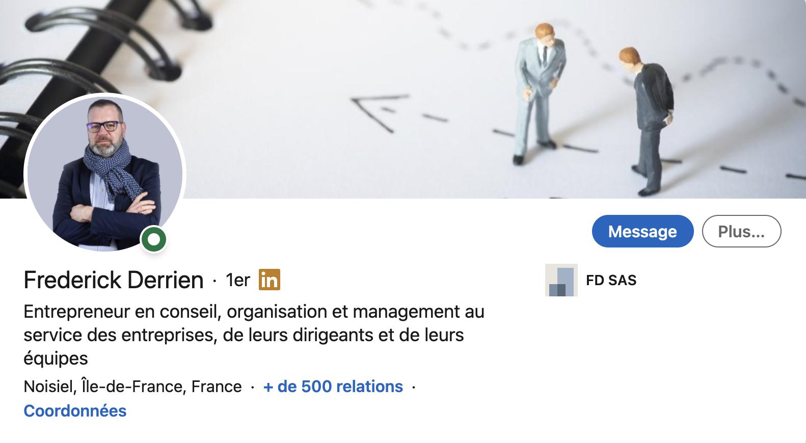 Frédérick Derrien Linkedin